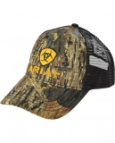Ariat Ballcap Camouflage and Yellow Logo