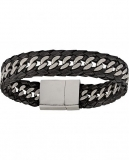 Montana Silversmiths Men's Stainless Steel Tread Bracelet