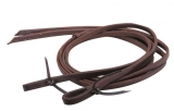 "Showman® Heavy Oiled Harness Reins with Weighted Ends 5/8"" x 8'"