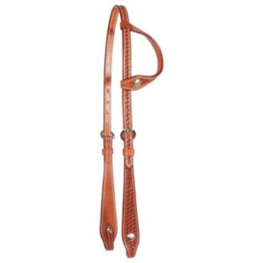 Schneiders Raleigh Vaquero Flared One Ear Headstall