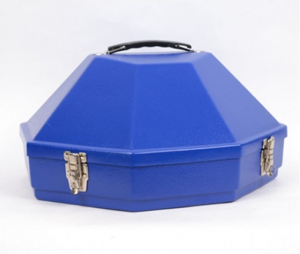 Western Hat Box Royal Blue