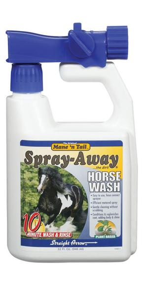 Mane´n Tail Spray-Away Horse Wash 32oz. (946ml)