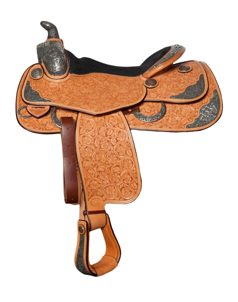 Bob´s - Custom Show Saddle (B11-57) - 16""