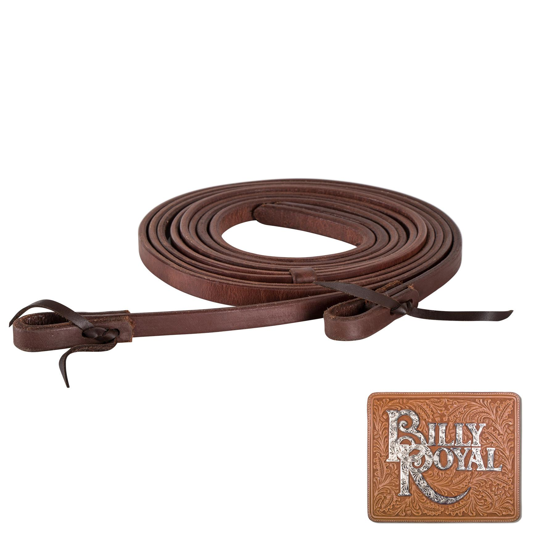 Billy Royal® Oiled Hermann Oak Leather Split Reins