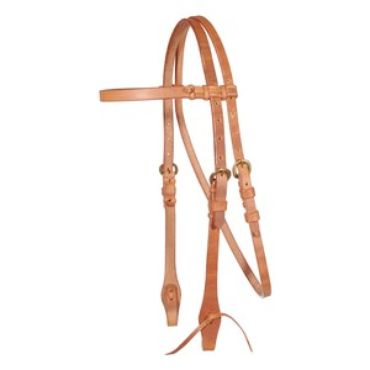 Schneiders Billy Royal® Harness Leather Browband Bridle