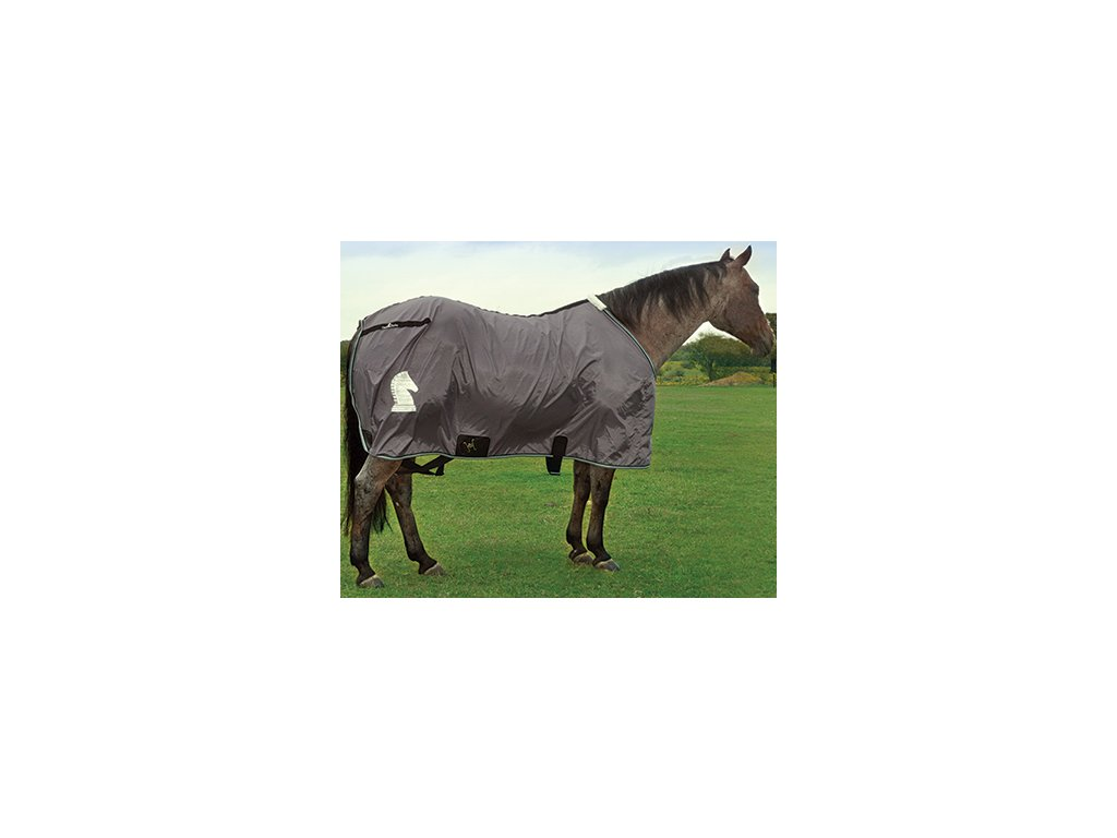Classic Equine Nylon Sheet Charcoal
