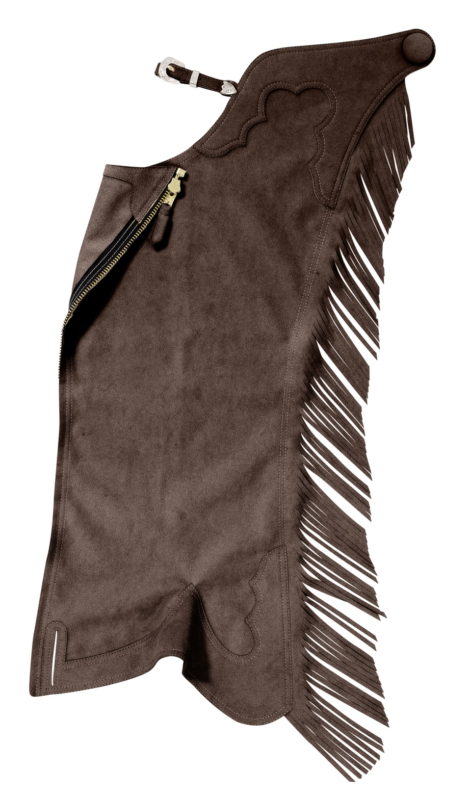Hobby Horse Classic Ultrasuede Chaps Fringed
