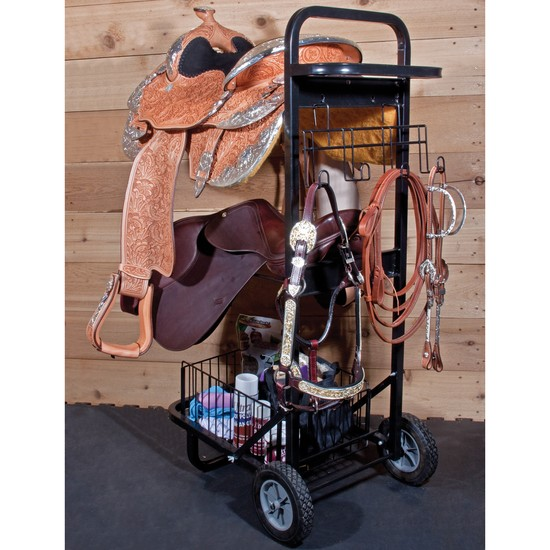 Schneiders Easy-Up Tack Room On Wheels