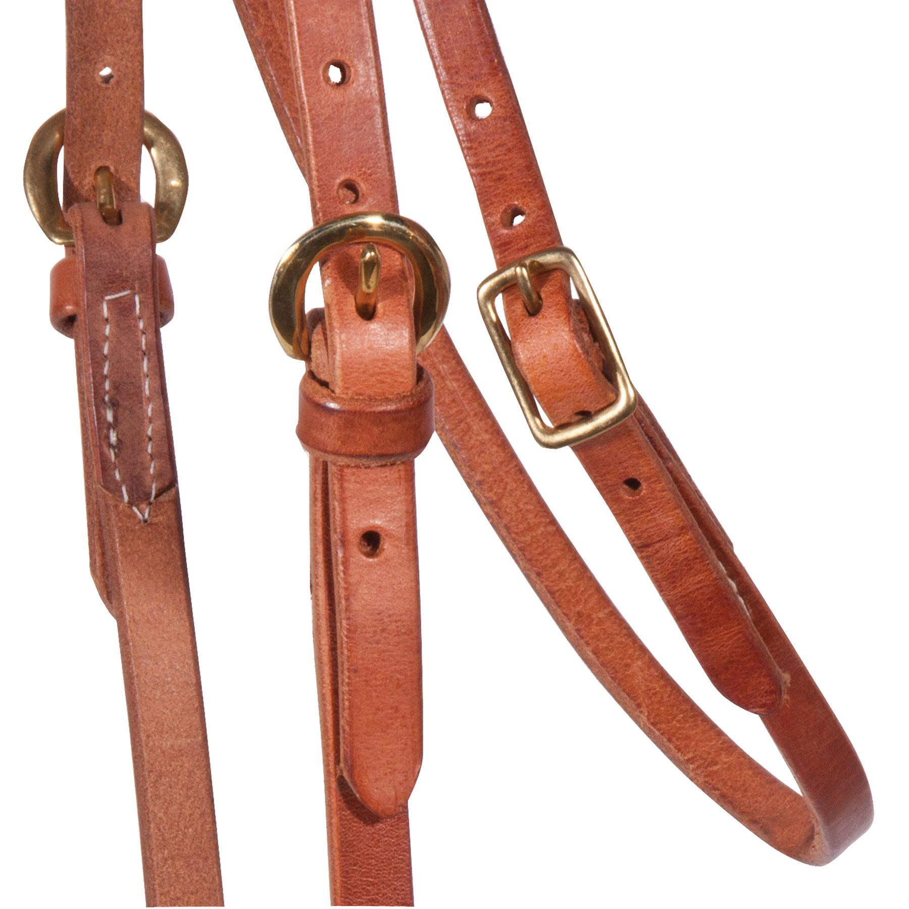 Billy Royal® Hermann Oak Leather Browband Headstall