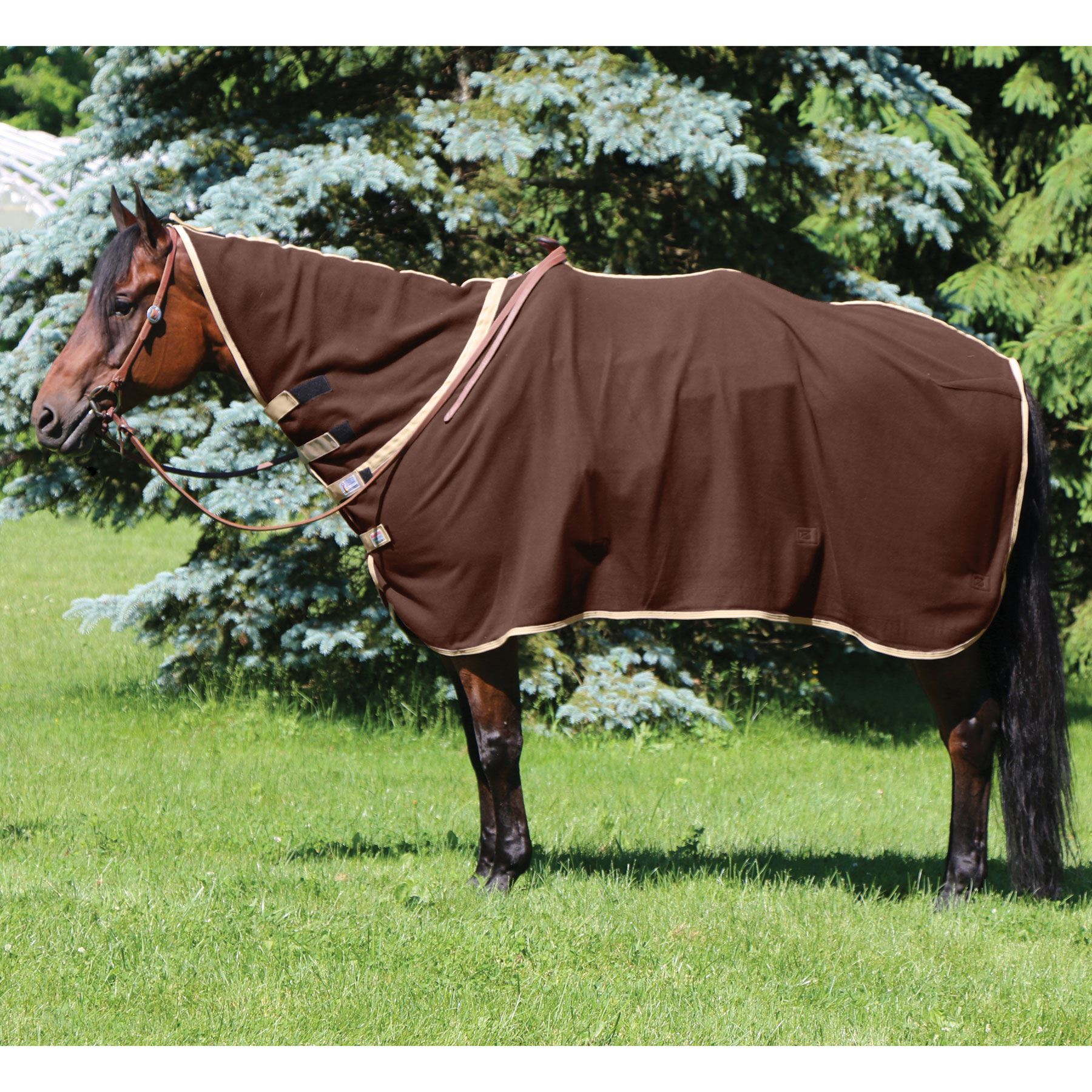 Dura-Tech® Western Performance Contour Fleece Cooler (LARGE / BROWN)