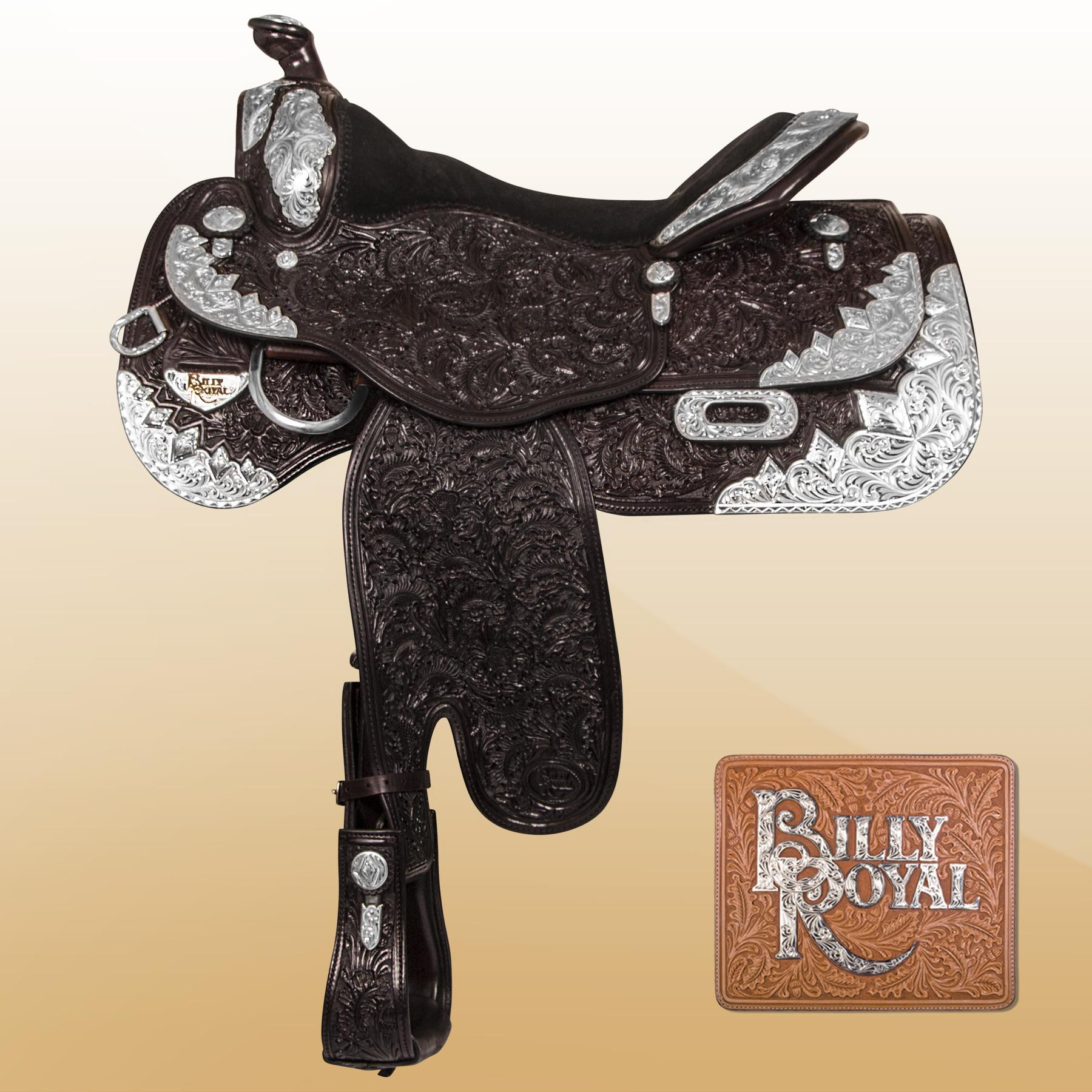 "Billy Royal® Sun Country Show Saddle 16"" (LIGHT OIL)"
