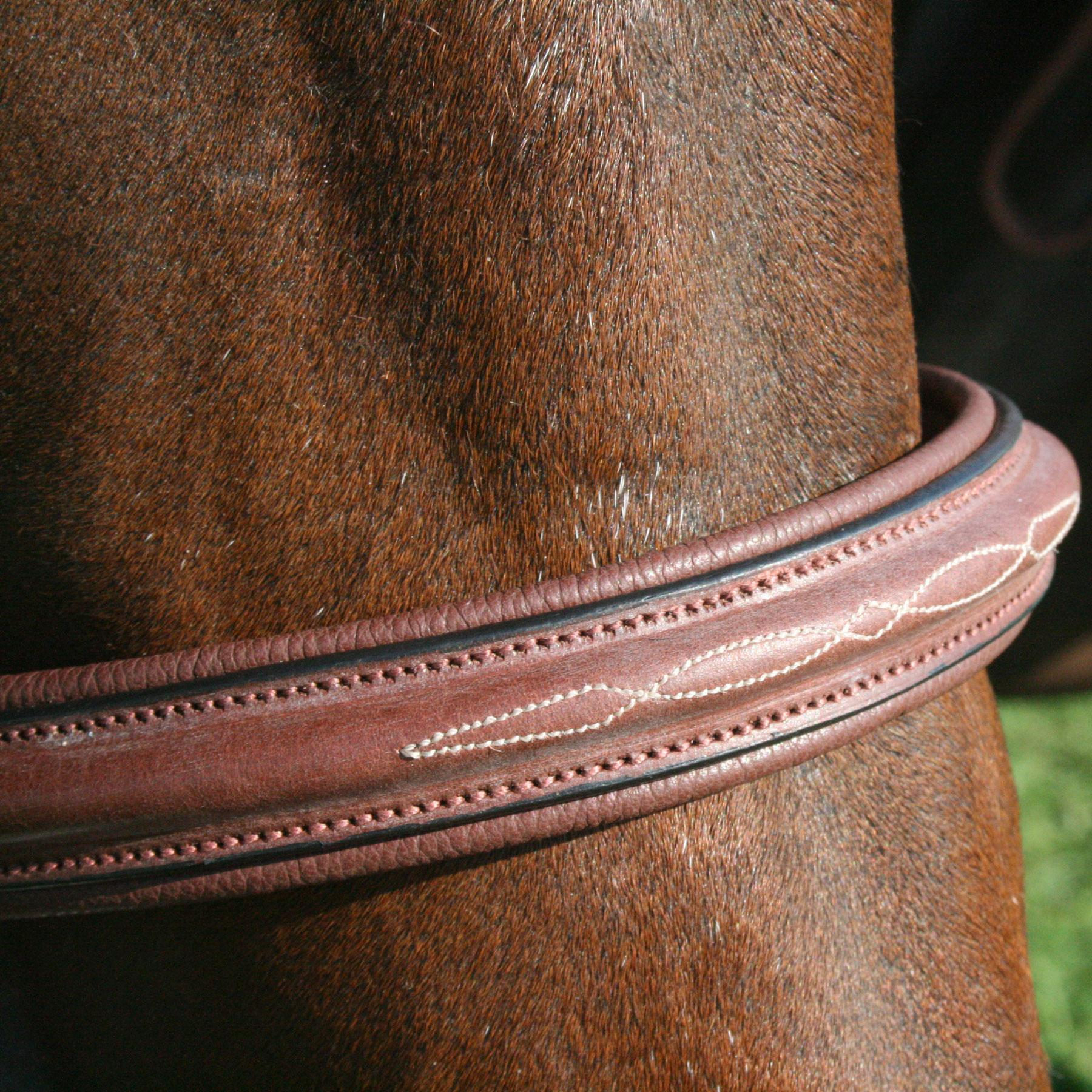Pinnacle Hunter Classic II Bridle (Cob/Chestnut)