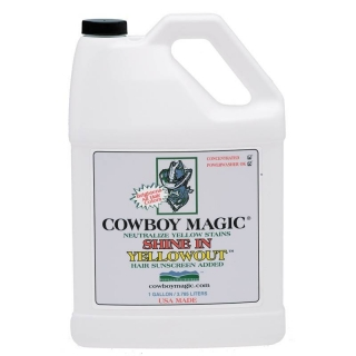 Cowboy Magic Yellowout Shampoo Gallon (3,78 l)