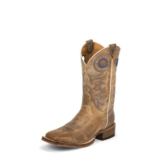 Justin Men´s Bent Rail® Caddo Beige Boots