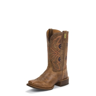 "Tony Lama 3R™ Woman´s Aquilla Tan 11"" Boots"