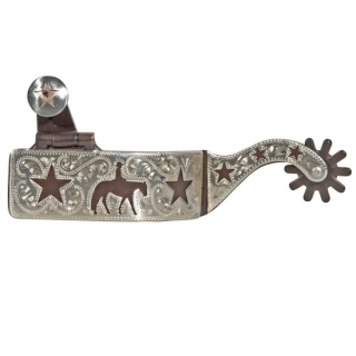 FES Ladies Pleasure Horse & Star Spurs