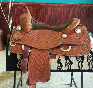 Randy Paul - Bob´s Reining Saddle 16,5""