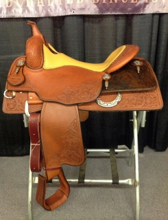 Randy Paul - Bob´s reining saddle 16""