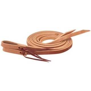 "Weaver Leather Single-Ply Heavy Harness Split Reins 1/2"" x 7'"
