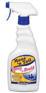 Mane´n Tail Equine Spray´n Braid 16oz. (473ml)