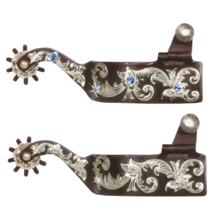 FES Antique Rhinestone Spurs