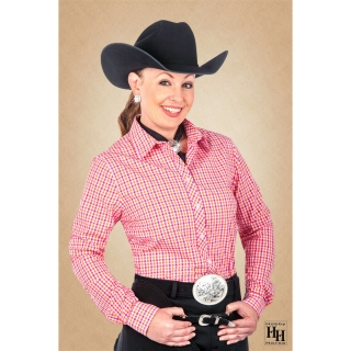 Lady Chex Show Blouse